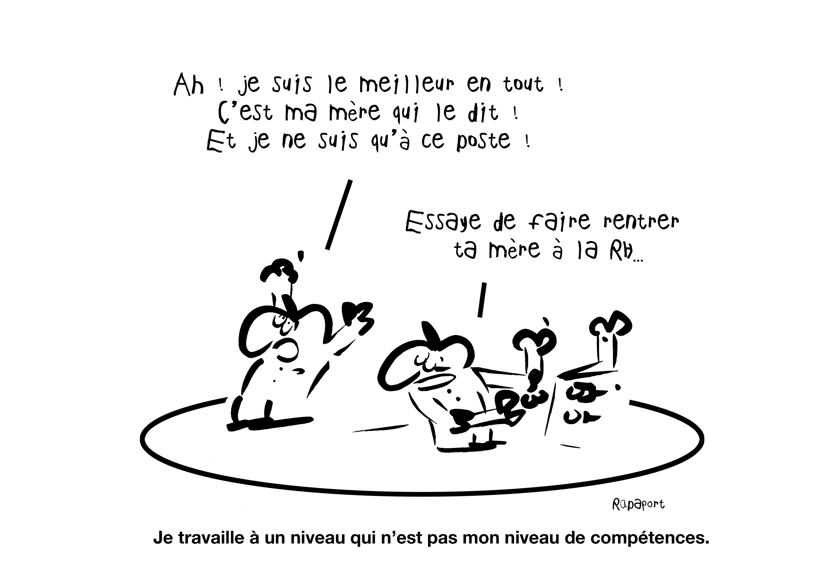 RAPAPORT DESSINS:BAROMÈTRE ENTREPRISE109