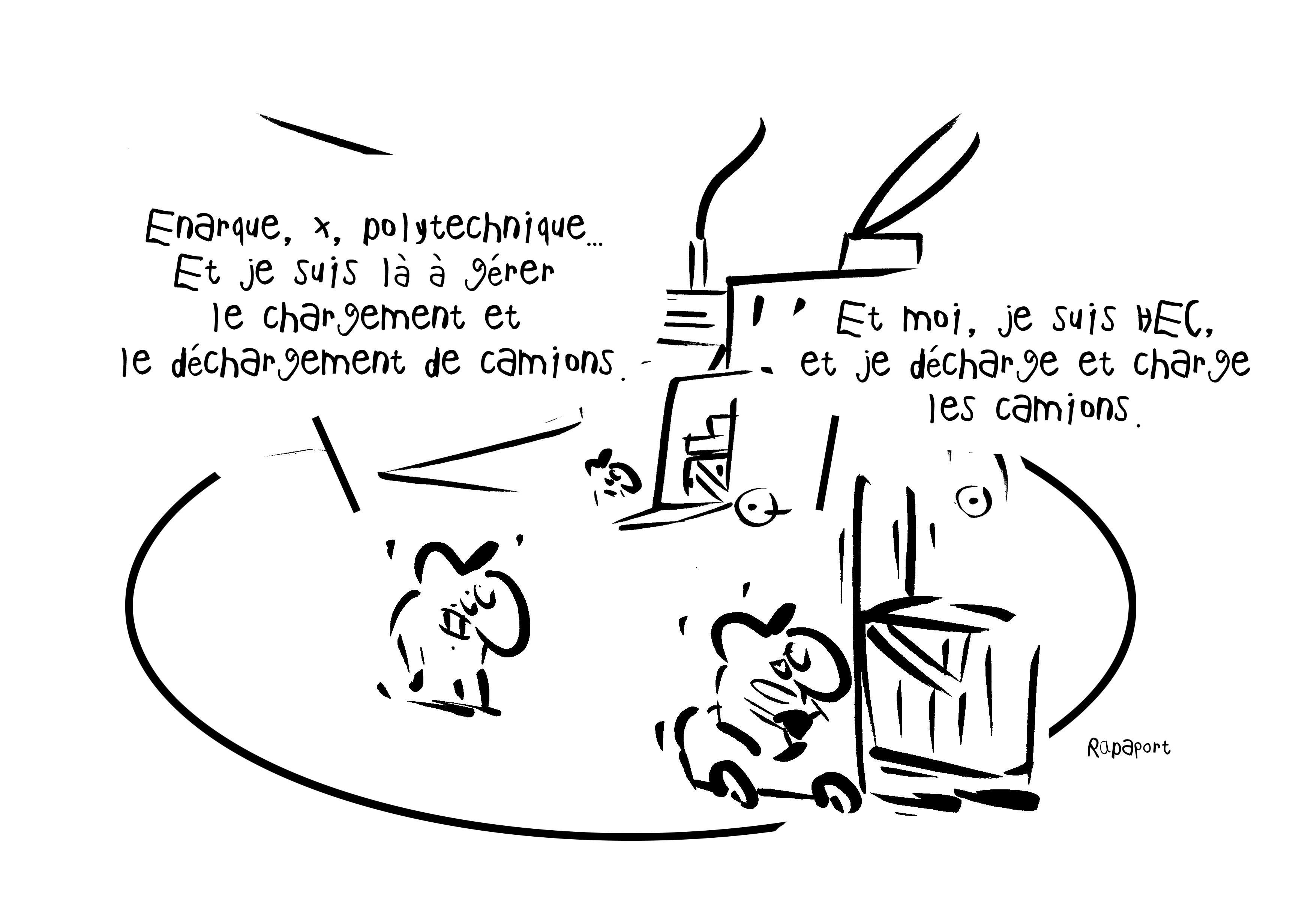 RAPAPORT DESSINS:BAROMÈTRE ENTREPRISE110