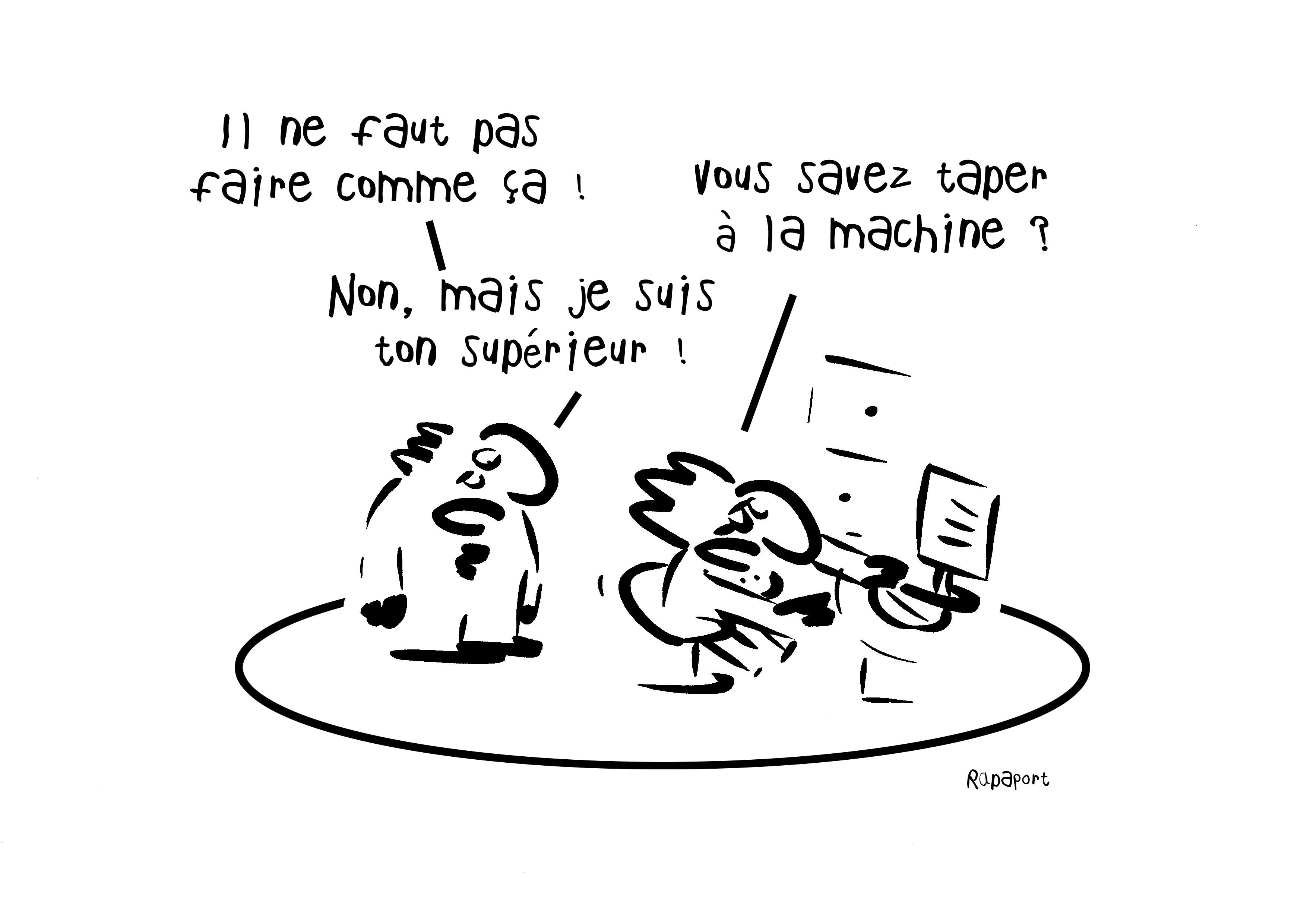 RAPAPORT DESSINS:BAROMÈTRE ENTREPRISE121