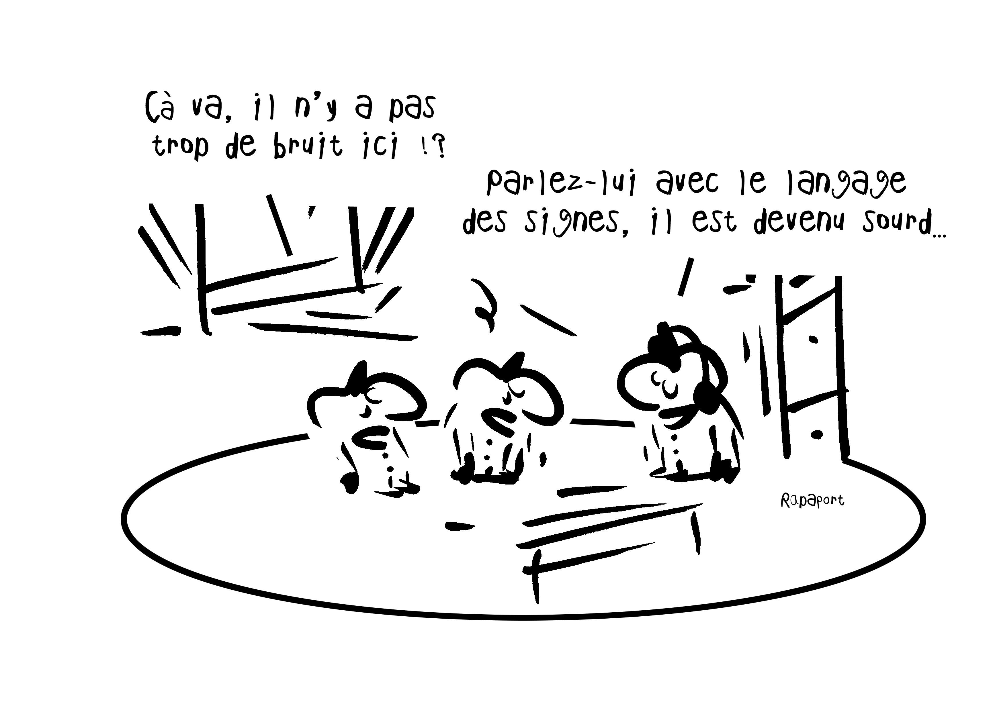 RAPAPORT DESSINS:BAROMÈTRE ENTREPRISE44