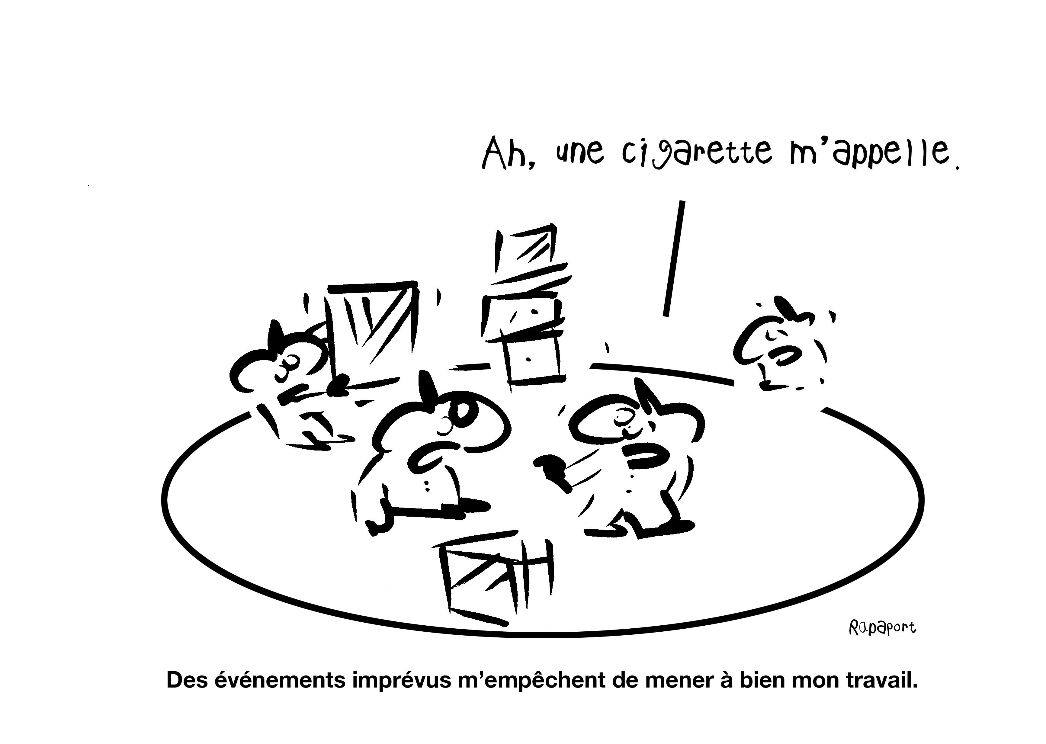 RAPAPORT DESSINS:BAROMÈTRE ENTREPRISE80