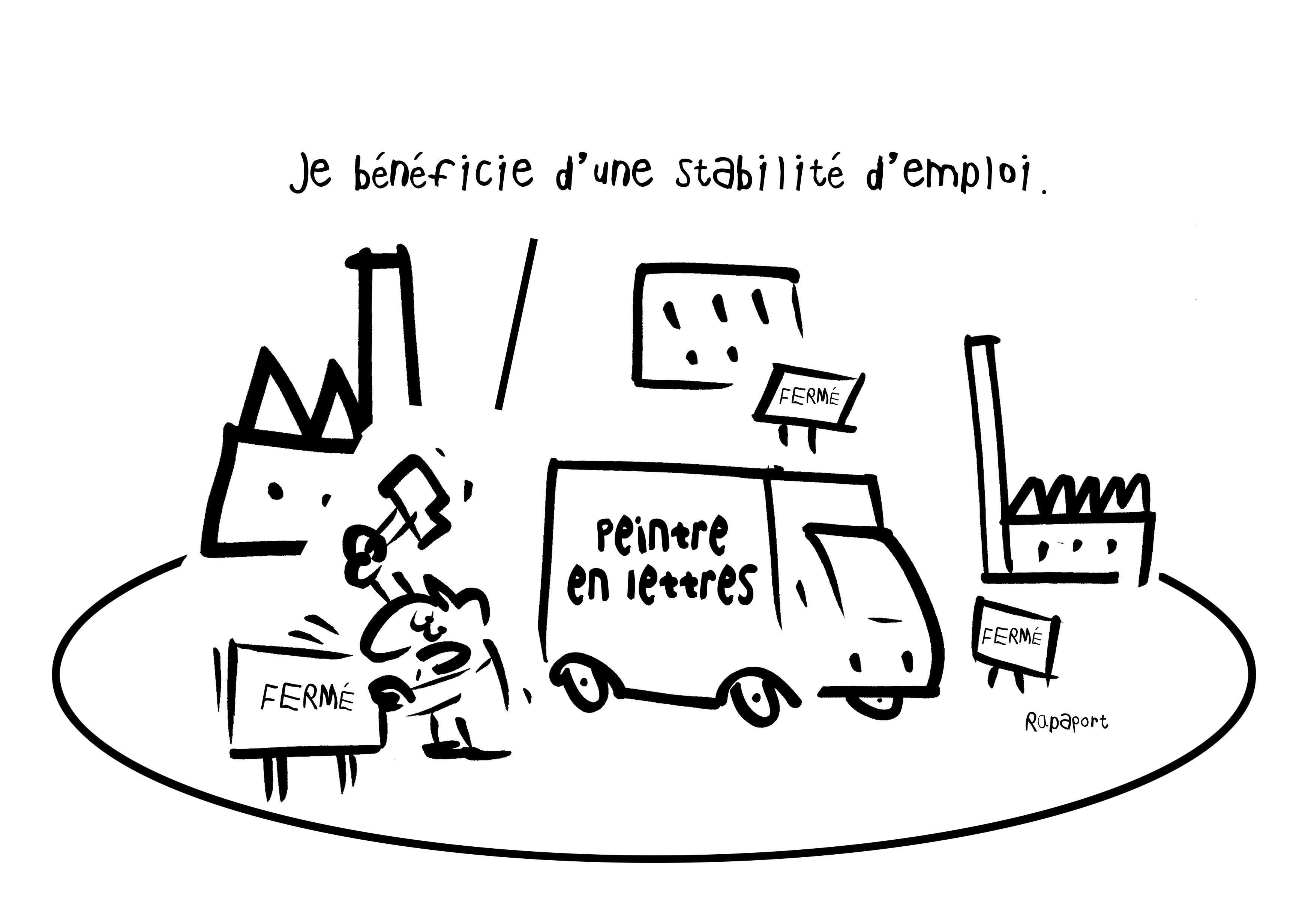 RAPAPORT DESSINS:BAROMÈTRE ENTREPRISE81
