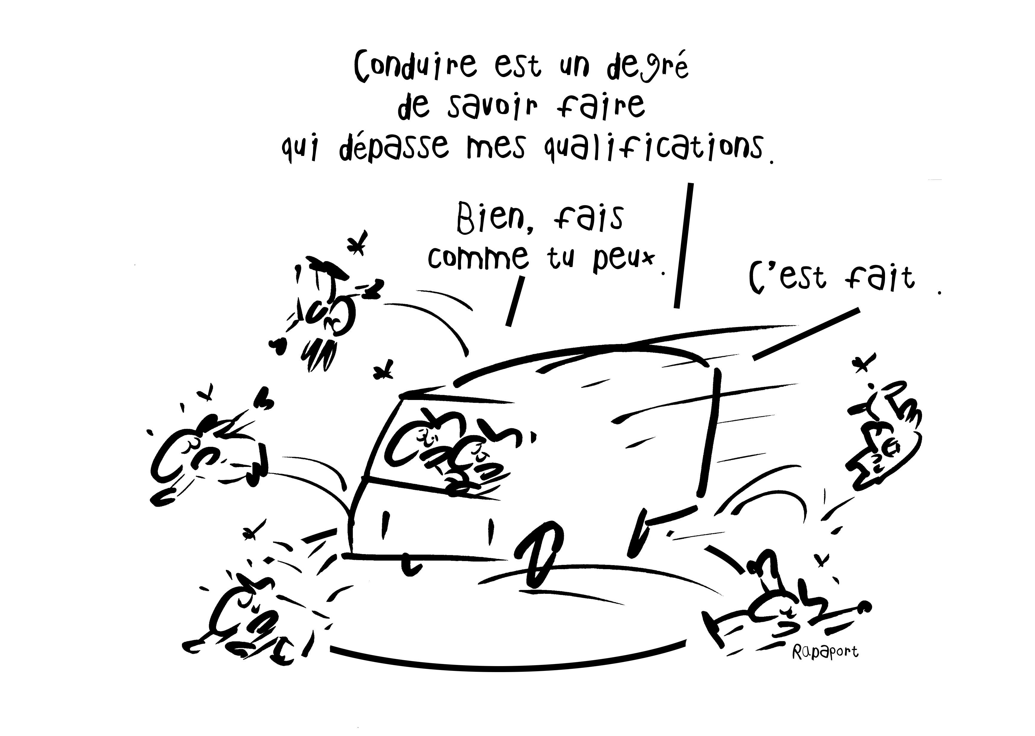RAPAPORT DESSINS:BAROMÈTRE ENTREPRISE82
