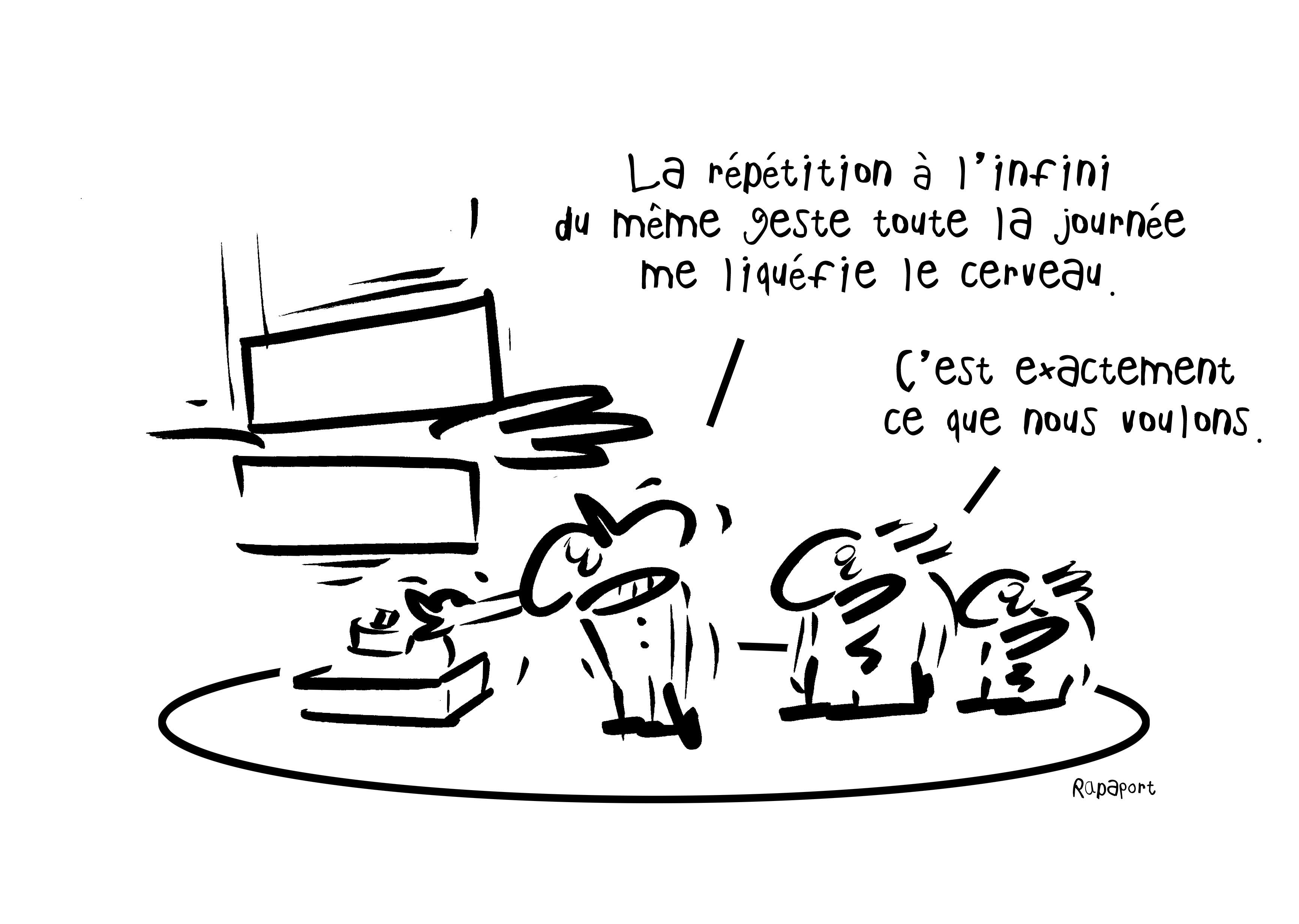 RAPAPORT DESSINS:BAROMÈTRE ENTREPRISE99